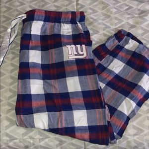 Womens NY Giants PJ Pants